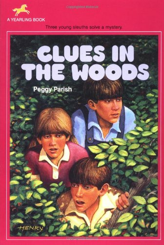 Clues in the Woods (Liza, Bill & Jed Mysteries) - Peggy Parish