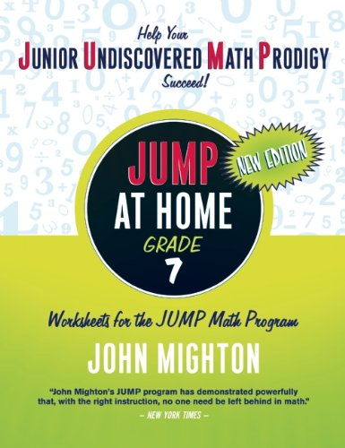 Jump at Home: Grade 7 - John Mighton