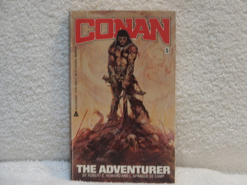 Conan The Adventurer - Robert E. Howard and L. Sprague De Camp