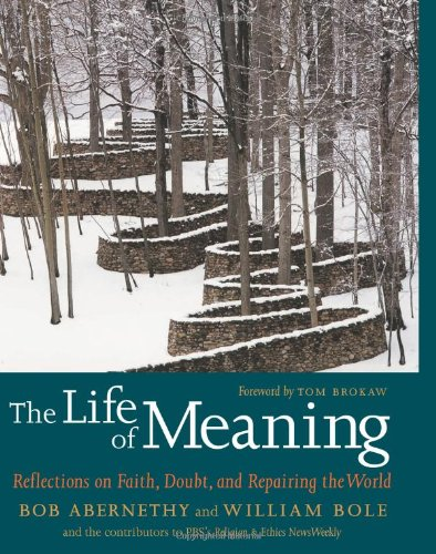 The Life of Meaning: Reflections on Faith, Doubt, and Repairing the World - Bob Abernethy; William Bole; Tom Browkaw
