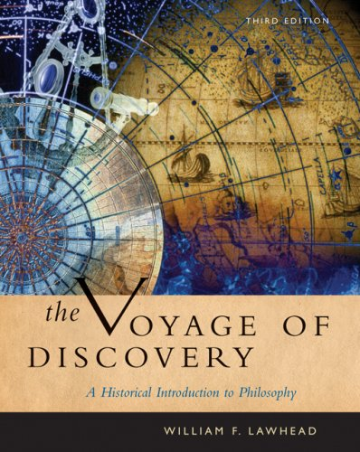 The Voyage of Discovery: A Historical Introduction to Philosophy (Thomson Advantage Books) - William F. Lawhead