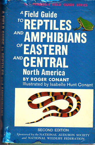 Field Guide to Reptiles and Amphibians of Eastern and Central North America (Peterson Field Guides)
