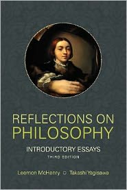 Reflections on Philosophy: Introductory Essays - Leemon McHenry (Editor)