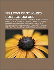 Fellows Of St John's College, Oxford
