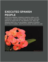 Executed Spanish People - Books Llc