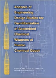 Analysis of Engineering Design Studies for Demilitarization of Assembled Chemical Weapons at Pueblo Chemical Depot - Committee on Review and Evaluation of Alternative Technologies for the Demilitarization of Assembl, National Research Council, B