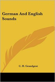 German and English Sounds - C.H. Grandgent