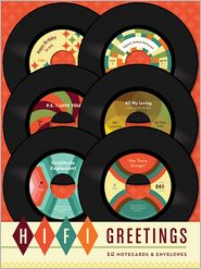 Hi-Fi Greetings: 12 Cards and Envelopes - Chronicle Books