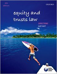 Equity and Trusts Law Directions - Gary Watt