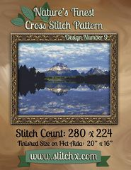 Nature's Finest Cross Stitch Pattern: Design Number 9