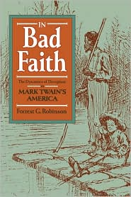 In Bad Faith - Forrest G. Robinson