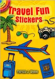 Travel Fun Stickers - Patricia J. Wynne