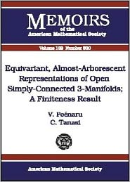 Equivariant, Almost-Arborescent Representations of Open Simply-Connected 3-Manifolds (Memoirs of the American Mathematical Society Series #800): A Finiteness Result