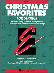 Christmas Favorites - Cello Essential Elements for Strings