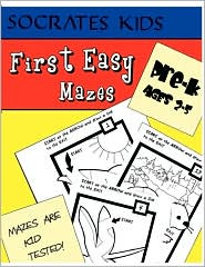 First Easy Mazes (Socrates Kids Workbook Series)