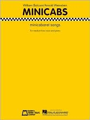 Minicabs: minicabaret songs for medium/low voice and piano - William Bolcom