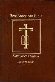 Saint Joseph Gift Bible, Deluxe Medium Size Print Edition: New American Bible (NABRE), brown bonded leather - Catholic Book Publishing Company