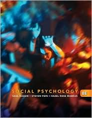 Social Psychology, 8th Edition - Saul Kassin, Steven Fein, Hazel Rose Markus