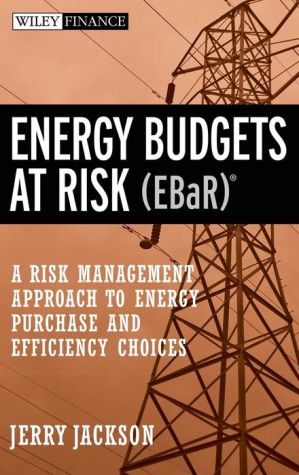 Energy Budgets at Risk (EBaR): A Risk Management Approach to Energy Purchase and Efficiency Choices - J. Jackson