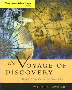 Cengage Advantage Books: Voyage of Discovery: A Historical Introduction to Philosophy - William F. Lawhead, William F.F. Lawhead