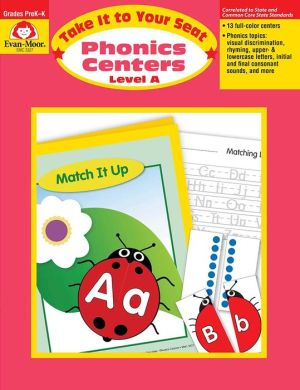Take It to Your Seat Phonics Centers - Level A, Grades PreK-K - Evan-Moor Educational Publishers, Jill Norris