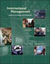 International Management: Culture, Strategy, and Behavior - Luthans, Fred / Doh, Jonathan P.