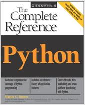 Python: The Complete Reference - Brown, Martin C.