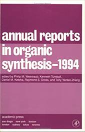 Annual Reports in Organic Synthesis 1994 - Weintraub, Philip M. / Zhang, Tony Yantao / Gross, Raymond S.