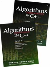 Bundle of Algorithms in C++, Parts 1-5: Fundamentals, Data Structures, Sorting, Searching, and Graph Algorithms - Sedgewick, Robert
