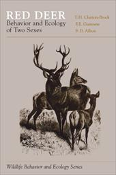 Red Deer: Behavior and Ecology of Two Sexes - Brock, Clutton / Guinness, F. E. / Clutton-Brock, T. H.