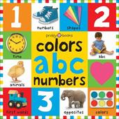 Bright Baby Colors, ABC, Numbers - Priddy Books