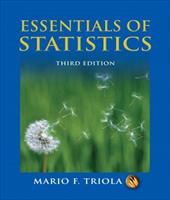 Essentials of Statistics [With CD-ROM] - Triola, Mario F.