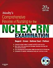 Mosby's Comprehensive Review of Nursing for the NCLEX-RN Examination [With CDROM] - Nugent, Patricia M. / Green, Judith S. / Hellmer Saul, Mary Ann