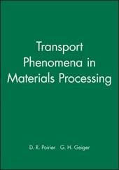 Transport Phenomena in Materials Processing, Solutions Manual - Poirier, D. R. / Geiger, G. H. / Poirier
