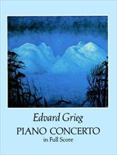 Piano Concerto in Full Score - Grieg, Edvard / Music Scores