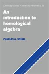 An Introduction to Homological Algebra - Weibel, Charles A. / Charles a., Weibel / Bollobas, Bela