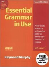 Essential Grammar in Use Without Answers: A Self-Study Reference and Practice Book for Elementary Students of English - Murphy, Raymond