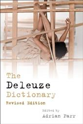 The Deleuze Dictionary - Parr, Adrian