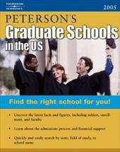 Graduate Schools in the U.S. - Petersons Publishing