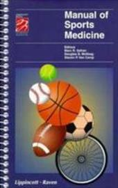 Manual of Sports Medicine - Safran / Camp, Van / McKeag
