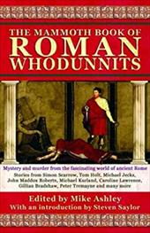 The Mammoth Book of Roman Whodunnits - Ashley, Mike / *, Editor