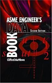 Engineer's Data Book, Asme Second Edition Package of Ten - Matthews, Clifford N. / Asme Press
