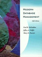 Modern Database Management - McFadden, Fred R. / Prescott, Mary B. / Hoffer, Jeffrey A.