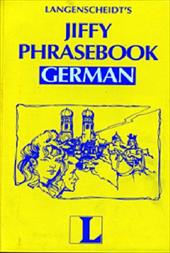 Jiffy Phrasebook German - Langenscheidt Publishers