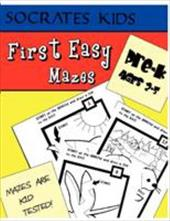 First Easy Mazes (Socrates Kids Workbook Series) - Strader, Jim