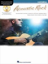 Acoustic Rock: Instrumental Play-Along for Horn - Hal Leonard Publishing Corporation