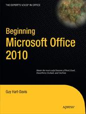 Beginning Microsoft Office 2010 - Hart-Davis, Guy