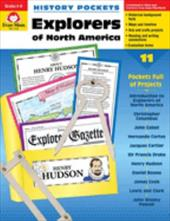 History Pockets, Explorers of North America - Graf, Mike / Evan-Moor Educational Publishers