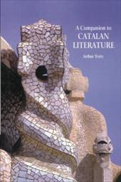 A Companion to Catalan Literature - Terry, Arthur