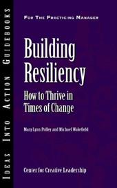 Building Resiliency: How to Thrive in Times of Change - Pulley, Mary Lynn / Wakefield, Michael